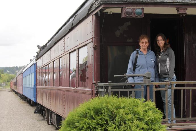 במוזיאון הרכבות בקרנברוק