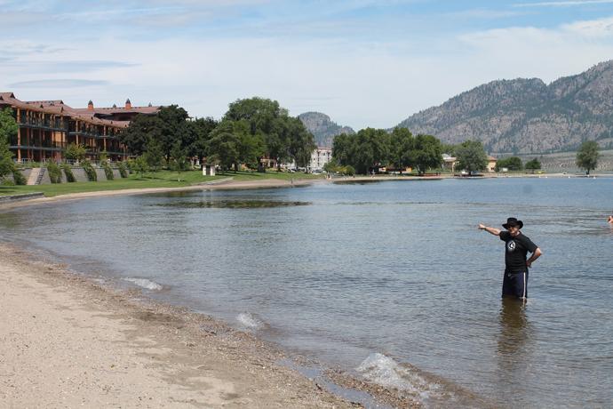 אגם אוסויוס מקרוב