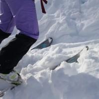 סקי שטח, או איך קופצים מעל לפופיק